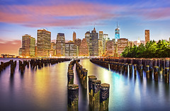 Path to Manhattan : New York City photo by KP Tripathi
