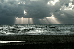 Light, Clouds and the Sea photo by Kees Verburg