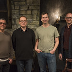 Michael Halberstam (Artistic Director), Conor McPherson (Playwright), Henry Wishcamper (Director) and Stuart Carden (Associate Artistic Director)