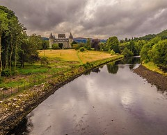 View from a Bridge: Inveraray Castle photo by Bathsheba 1