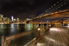 The Night lights of Manhattan photo by Gene Krasko Photography