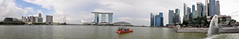 Singapore - Merlion Park Panorama photo by Drriss & Marrionn