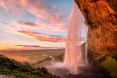 Seljalandsfoss Sunset photo by Old-Man-George