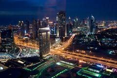 Émirats Arabes Unis - DubaÏ - Skyline photo by Thierry B
