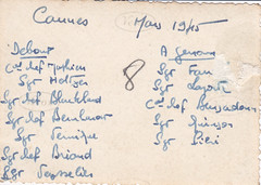 Mars 1945 - Cannes - BM 21  - Col. P. Ruiz