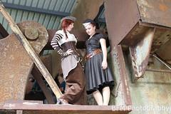 Steampunk girls in Fond de Gras photo by Marc Ben Fatma - visit sophia.lu and like my FB pa