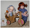Addie Tiny BJD by Bo Bergemann & NappyChoo Dalang 02