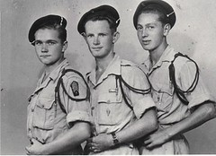 1943 - Casablanca- Henri Fercocq- David- Guenanten (mplf-sand-janvier-45) -Fonds-fercocq