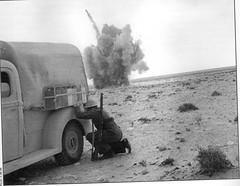 RA- 1942- Bir Hakeim - tir d'artillerie