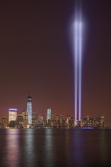 9/11 Tribute in Light 2013 September 11, 2013 (Explored) photo by Strykapose