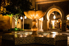 Moroccan Fountain photo by Brett Kiger