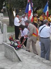 Le Pradet commémoration 2013 -- Michel Kempf