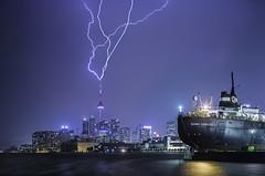 CN Tower Lightning photo by Richard Gottardo