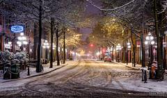 Abbott Street Snow photo by Alexis Birkill Photography