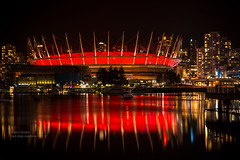 BC place in vibrant red crown photo by non stop creations- Sherry Landon