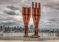 9-11 Memorial in Weehawken NJ photo by kirit prajapati photography