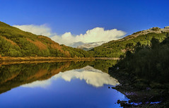 Loch Tarsan Reflections photo by Bathsheba 1
