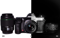 PENTAX NEW VS OLD photo by Markgill21
