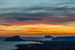 Calpe from Cumbre del sol (Explored) photo by El Tel63