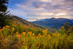 Fall Morning on The Blue Ridge Parkway photo by Jared Kay