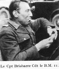 BM 11 - Authion 1945 printemps - commandant Brisbarre