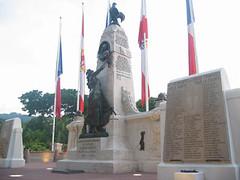 BP - monument à Papeete
