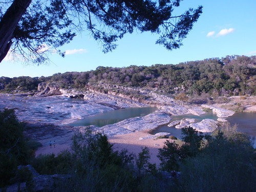 Pedernales Falls in Autumn