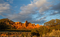 Red Rock sunset [Explored] photo by Patrick Berden