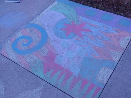 Elaborate Chalkwork