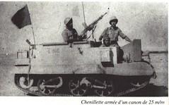 BP- Chenillette armée d'un canon de 25 mm - Mémoires de Roger Ludeau