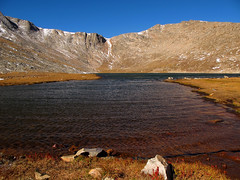 Summit Lake below Mount Evans, Colorado photo by Batikart