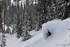 02/11/14-  Powder Reserve. Cam Fitzpatrick gets premium powder in the Crags..