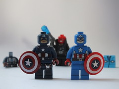 Two Captain Americas But Which One Is Better...? photo by The_Lego_Guy