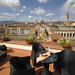 Terrace, Suite Queen 360°. Panoramic view on Ponte Vecchio