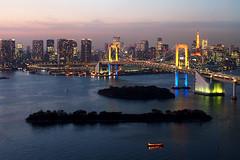 Rainbow Bridge Tokyo photo by どこでもいっしょ