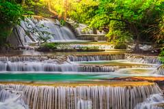 Erawan Waterfall photo by anekphoto