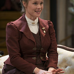 Chaon Cross (Thea Elvsted) in HEDDA GABLER.  Photo by Michael Brosilow.