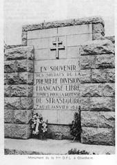 Obenheim- Monument 1ere DFL