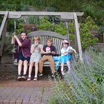 Testing out the swing chair<br/>13 Jul 2014
