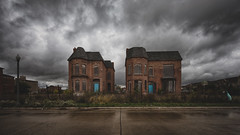 Brush Park, Detroit MI photo by Jamie Betts Photo