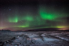 Icelandic Aurora - explored! photo by OnlyEverOneJack
