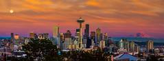 Golden Seattle photo by howardignatius