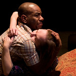 LaShawn Banks and Penny Slusher in OLD GLORY at Writers Theatre. Photos by Michael Brosilow.