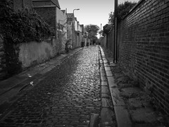 Cobbled Lane photo by smarthair - away for a run !