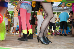 Fashion socks. Zurich street Parade 2012. No. 5587. photo by Izakigur
