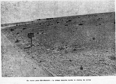 La tresse blanche borde le champ de mines - RFL fev 56