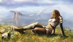 La Guerrière aux Dragon