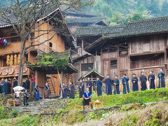 Langde village : Long Skirt Miao #6 photo by foto_morgana