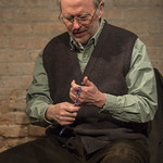Patrick Clear (Joe) in PORT AUTHORITY at Writers Theatre. Photo by Michael Brosilow.