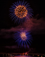 Shaver Lake Fireworks photo by punahou77